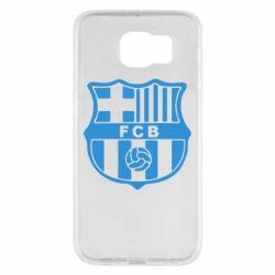 Чехол для Samsung S6 FC Barcelona