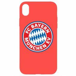 Чохол для iPhone XR FC Bayern Munchen