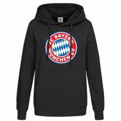 Женская толстовка FC Bayern Munchen - FatLine