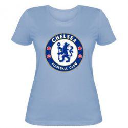 Женская футболка FC Chelsea - FatLine