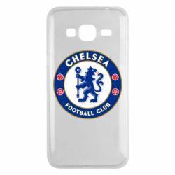 Чехол для Samsung J3 2016 FC Chelsea