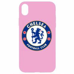 Чехол для iPhone XR FC Chelsea