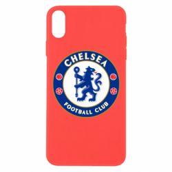 Чехол для iPhone Xs Max FC Chelsea