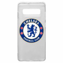 Чехол для Samsung S10+ FC Chelsea