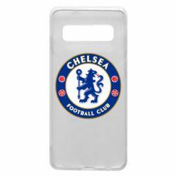 Чехол для Samsung S10 FC Chelsea