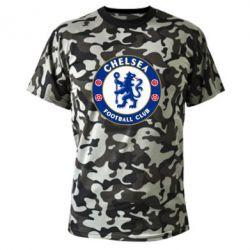 Купить Челси (Chelsea), Камуфляжная футболка FC Chelsea, FatLine