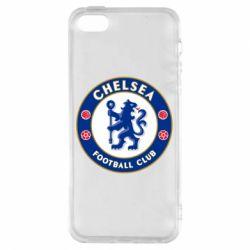 Чехол для iPhone5/5S/SE FC Chelsea