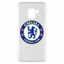 Чехол для Samsung A8 2018 FC Chelsea