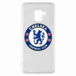 Чехол для Samsung A8+ 2018 FC Chelsea