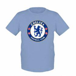 Купить Челси (Chelsea), Детская футболка FC Chelsea, FatLine