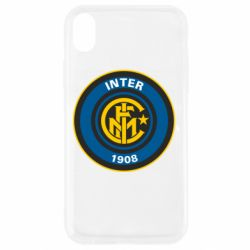 Чехол для iPhone XR FC Inter