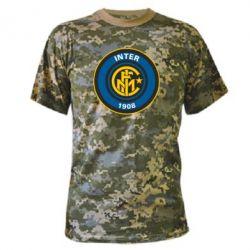 Камуфляжная футболка FC Inter - FatLine
