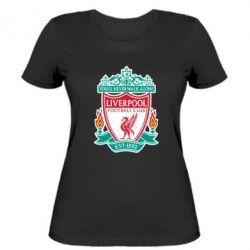 Женская футболка FC Liverpool - FatLine