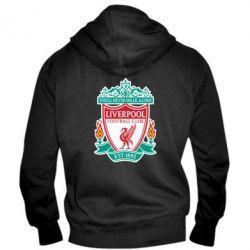 Мужская толстовка на молнии FC Liverpool - FatLine