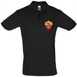 Футболка Поло FC Roma - FatLine