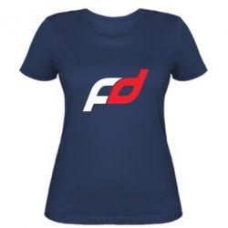 Женская футболка FD - FatLine