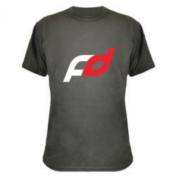 Камуфляжная футболка FD