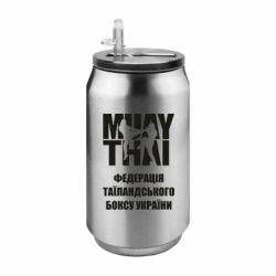 Термобанка 350ml Федерація таїландського боксу України
