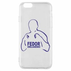 Чехол для iPhone 6/6S Fedor Emelianenko - FatLine