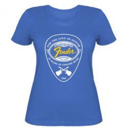 Женская футболка Fender - FatLine