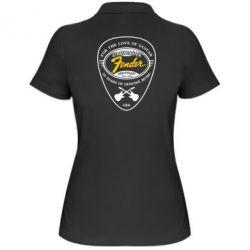 Женская футболка поло Fender - FatLine