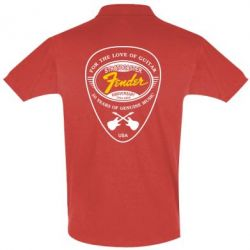 Футболка Поло Fender - FatLine