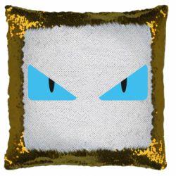 Подушка-хамелеон Fendi eyes