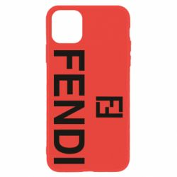 Чехол для iPhone 11 Fendi logo