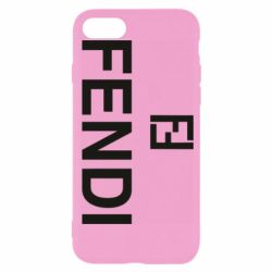 Чехол для iPhone 7 Fendi logo