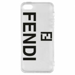 Чехол для iPhone5/5S/SE Fendi logo