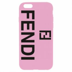 Чехол для iPhone 6/6S Fendi logo
