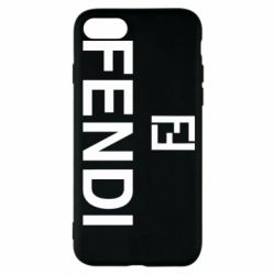 Чехол для iPhone 8 Fendi logo