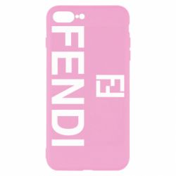 Чехол для iPhone 8 Plus Fendi logo