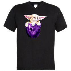 Мужская футболка  с V-образным вырезом Fenech in your pocket