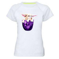 Женская спортивная футболка Fenech in your pocket