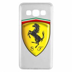 Чехол для Samsung A3 2015 Ferrari 3D Logo