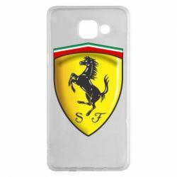 Чехол для Samsung A5 2016 Ferrari 3D Logo