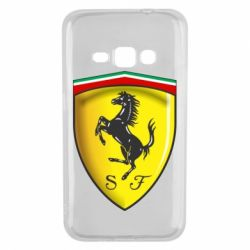 Чехол для Samsung J1 2016 Ferrari 3D Logo