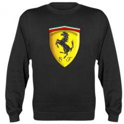 Реглан (свитшот) Ferrari 3D Logo - FatLine