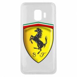 Чехол для Samsung J2 Core Ferrari 3D Logo