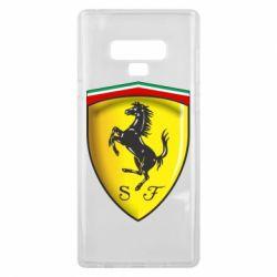 Чехол для Samsung Note 9 Ferrari 3D Logo