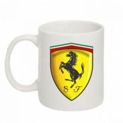 Кружка 320ml Ferrari 3D Logo