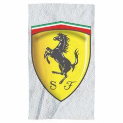 Полотенце Ferrari 3D Logo