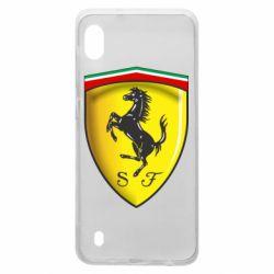 Чехол для Samsung A10 Ferrari 3D Logo