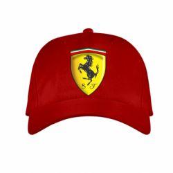Детская кепка Ferrari 3D Logo - FatLine