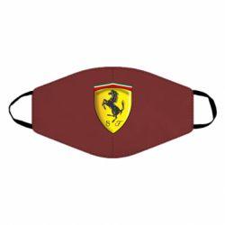Маска для лица Ferrari 3D Logo