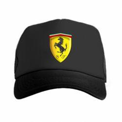 Кепка-тракер Ferrari 3D Logo - FatLine