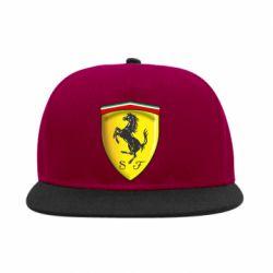 Снепбек Ferrari 3D Logo - FatLine