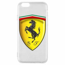 Чехол для iPhone 6/6S Ferrari 3D Logo