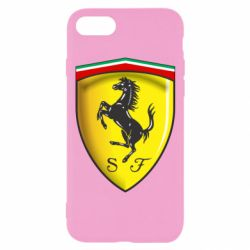 Чехол для iPhone 7 Ferrari 3D Logo